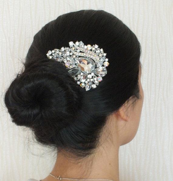 Sparkling Bijoux - Austrian Rhinestone hair comb