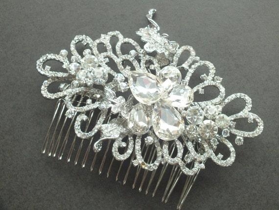 Vienna - Austrian Rhinestone Bridal Comb