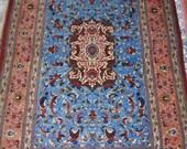 Persian Silk Rug (Iran, Qum)