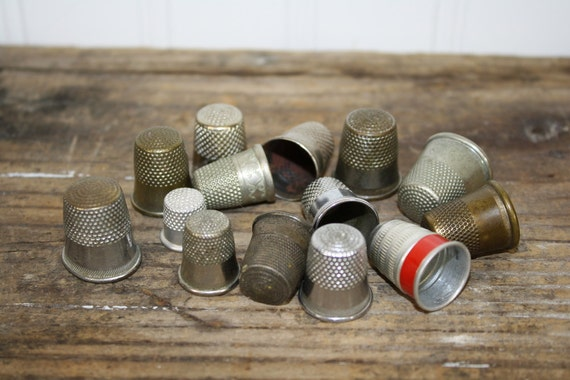 Thimble Assortment - 14 pieces