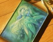NIGHT ANGEL green fairy wall hanging