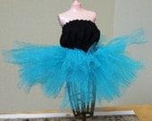 Turquoise-Barbie Doll tutu