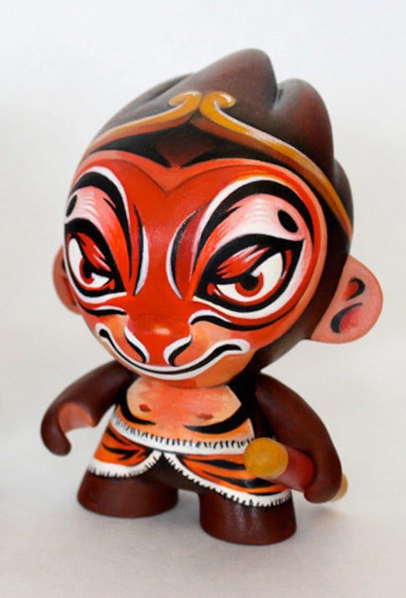 Peking Monkey custom vinyl toy