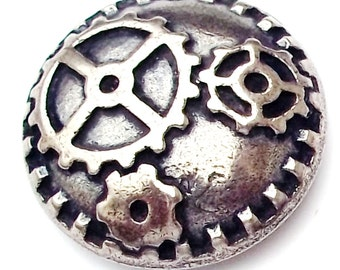 SteamPunk Gear Buttons