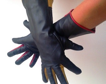 Gauntlets, Leather Gloves, Steampunk