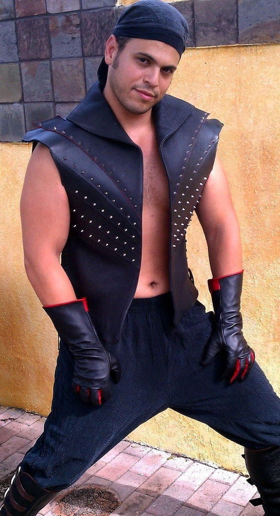 The Scarab, Armor, Leather Vest