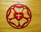 Luther's Rose  - Metal Ornament