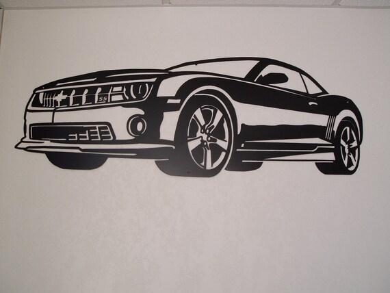 Chevy Camaro Metal Wall Art
