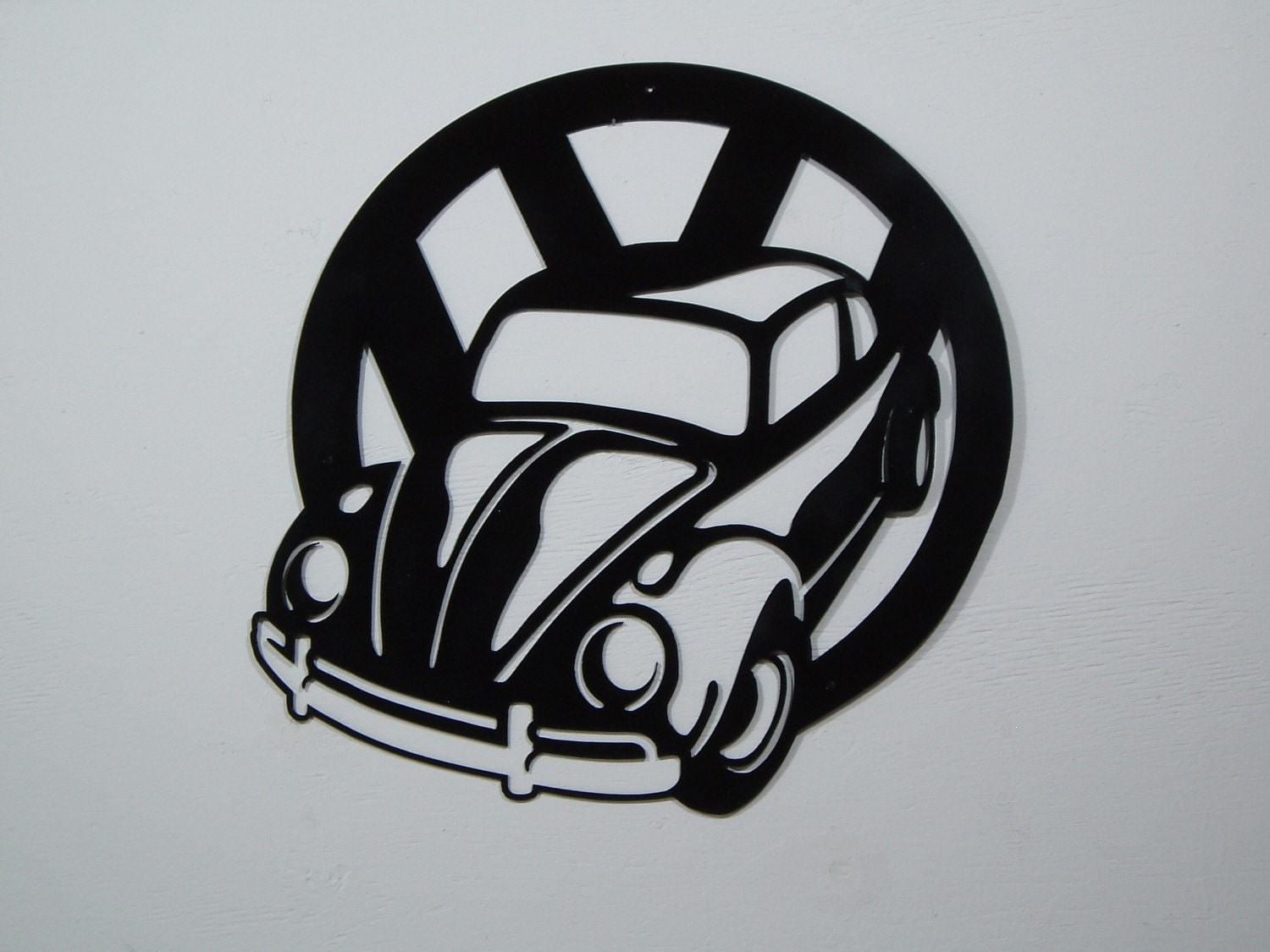 Cow Wall Stickers Vintage Volkswagen Symbol