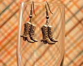 Howdy Cowgirl Boot earrings