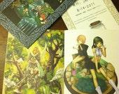 Fantasy Vignette Mini Illustration Book