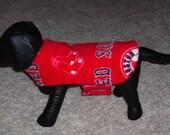 Fleece Dog Jacket Boston Red Sox (X-Small)