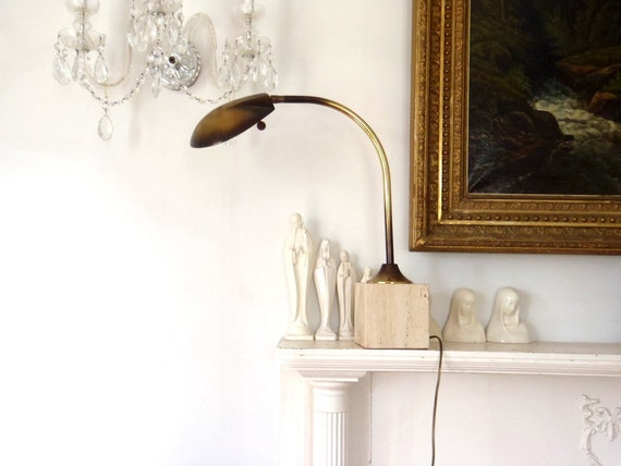 Arc Lamp Designer Vintage 1970s Atomic Lamp