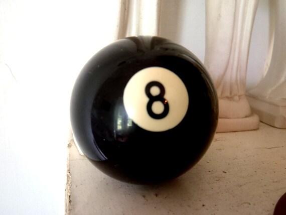 Vintage 8 Ball Billiards Ball Pool Ball Game Ball