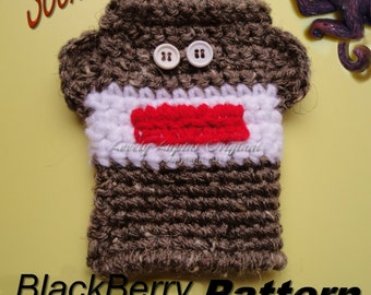 crochet, pattern, sock monkey, cell phone,  camera case, crochet gift case, crochet pattern, handmade, personalize,sell your items