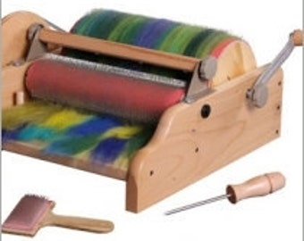 NEW   Ashford Extra Wide Drum Carder, For Carding Your Art Batts  US ONLY