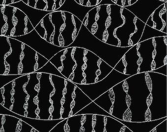 Black and White DNA print