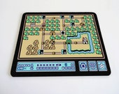 Mario world 1 grassland mousepad