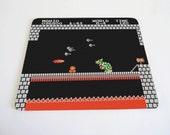 MarioBros world 8-4 mouse pad