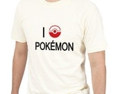 I Love pokemonTee Shirt