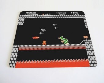 MarioBros world 8-4 mousepad