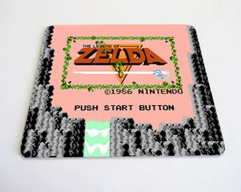 Zelda screen mousepad