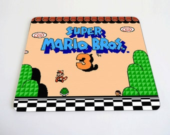 Super Mario Bros 3 mousepad