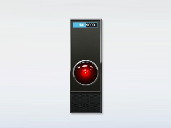 Hal9000, Space Odyssey inspired magnet