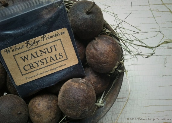 Walnut Ink Crystals for Aging Antiquing Dyeing