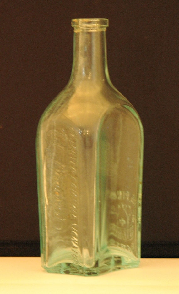 Vintage French Cologne Bottle Ed Pinaud