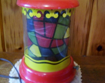 Motion Lamp Econolite Roto Vue Junior Electric Spinning Light Antique 1950's