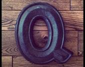 Vintage Letter Q