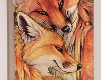 Fox Couple Pendant