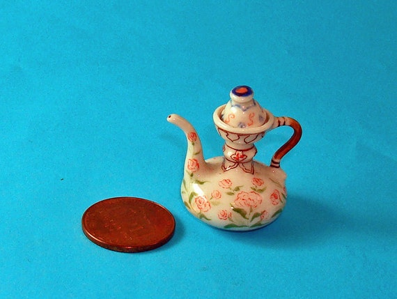 Chinese Antique Wine Pot for Dollhouse 1/12 Scale