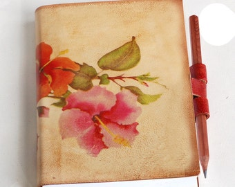 Free Initials Spring  Flowers journal
