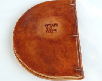 On Sale Passover Leather bound Haggada