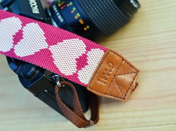 Pink Sweetie Camera Strap