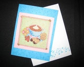 Greeting Card  Hot Chocolate and Cookies