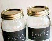 Chalkboard Labels - Set of 6