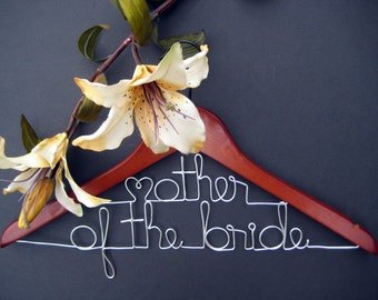 Hanger for Mother of the Bride Mother of the Groom or Long Last Names