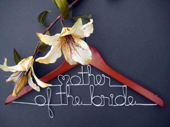 Personalized Hanger Custom Made for Mother of the Bride