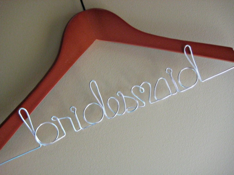 Mrs hanger wedding dress hanger personalized for by divinewine for Mrs hangers wedding dress