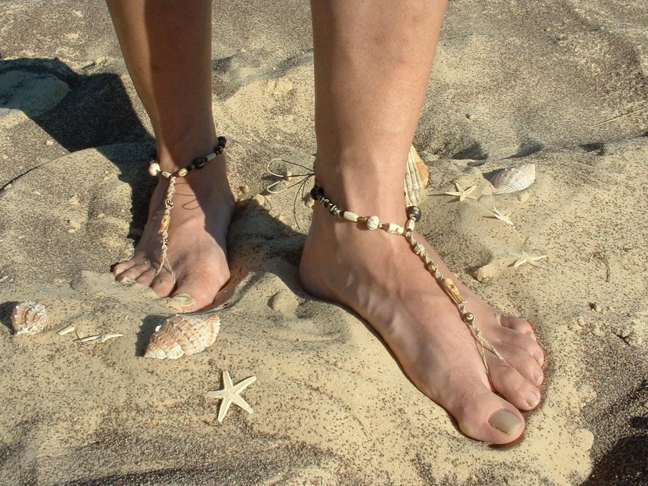 Bottomless Beaches http://www.etsy.com/listing/97807031/mens-jewelry-hemp-barefoot-sandals