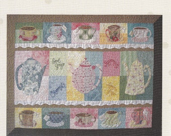 LizzieB Cre8ive Tea Quilt Pattern