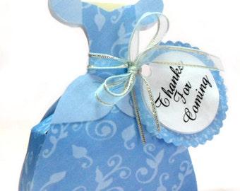 Cinderella favor box, Cinderella Dress Printable Box, Printable   INSTANT DOWNLOAD
