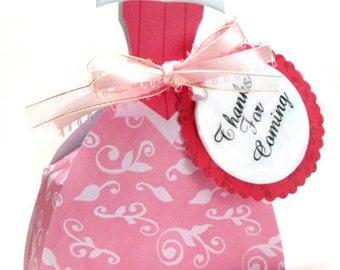 Sleeping Beauty favor box, Aurora favor box, Sleeping Beauty Dress favor box, Printable favor Box - INSTANT DOWNLOAD
