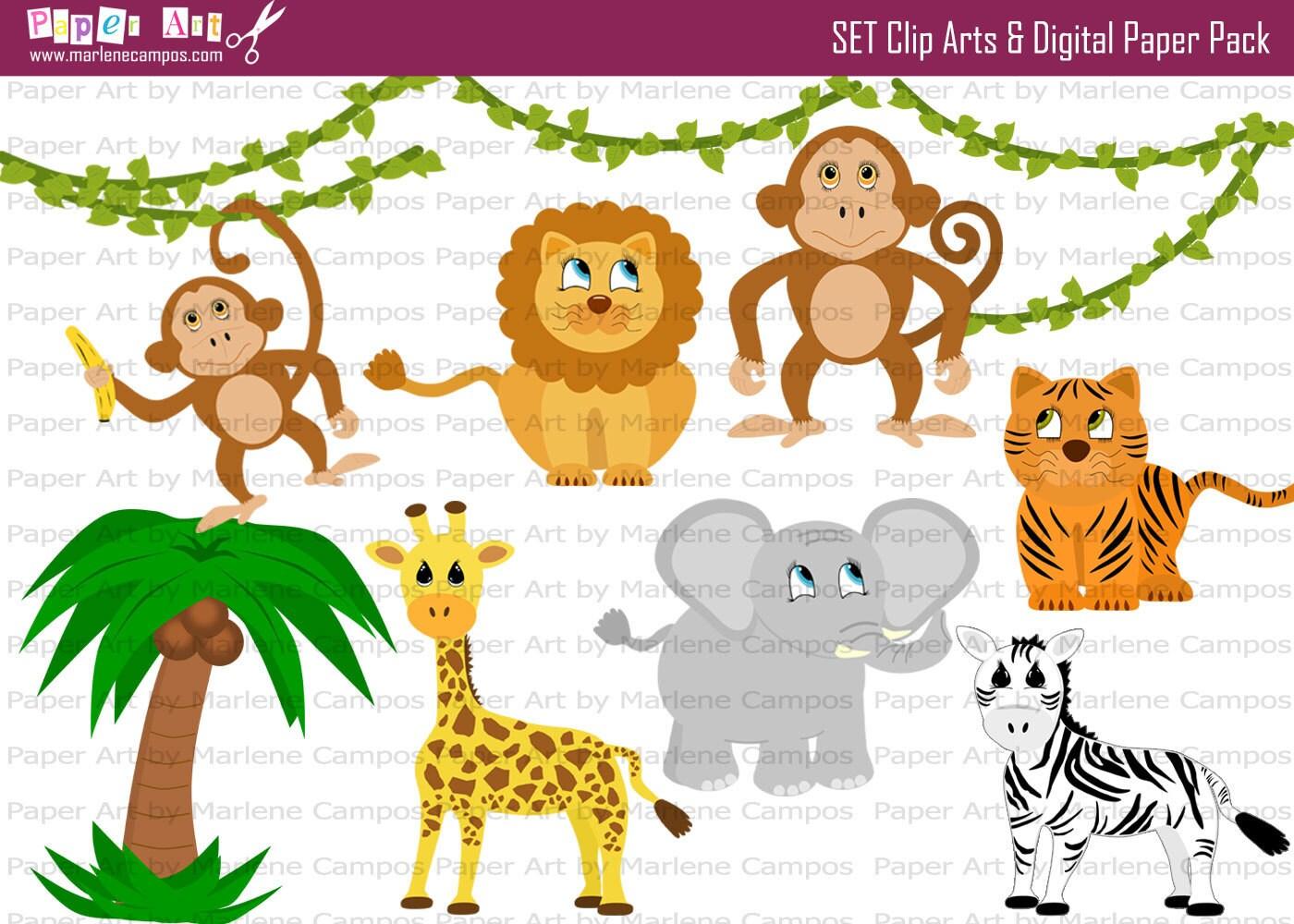 jungle print clip art - photo #7