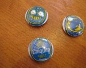 Chiquita Banana Sticker Buttons