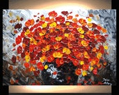 original impasto palette knife one of a kind oil painting from listed artist jolina anthony great service