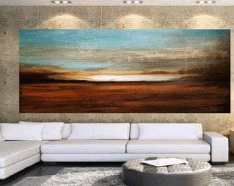 "Painting , abstract painting 72"" large painting  Jolina Anthony"
